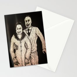 Happy couple Stationery Cards