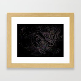 Figure Framed Art Print