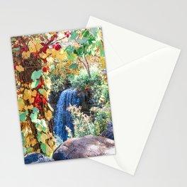 Minnehaha Falls Minneapolis Autumn Stationery Cards
