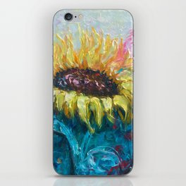 Sunny Flower by Lena Owens iPhone Skin