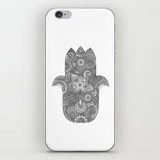 Hamsa - B&W iPhone & iPod Skin