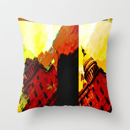 Stating House  Throw Pillow