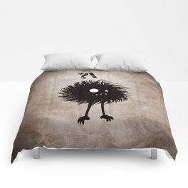 Evil Bug Wondering Comforters