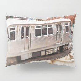 Chicago Train Photography - 3426 Pillow Sham