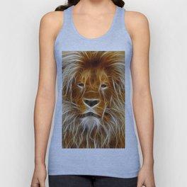 Lion Portrait Art Unisex Tank Top