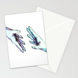 she would touch you with her absent hands Stationery Cards