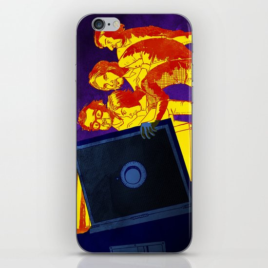 """Bankrupt!"" by Dmitri Jackson iPhone & iPod Skin"