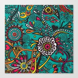 Flowers of joy Canvas Print