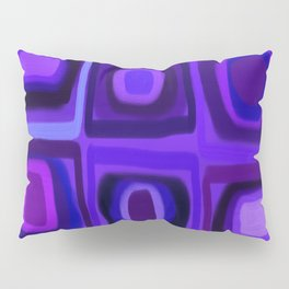 Violets in Blue Windows Pillow Sham