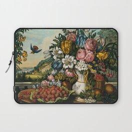 Landscape, Fruit and Flowers Laptop Sleeve