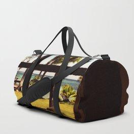 Tropical Fiji Beach Scene Duffle Bag