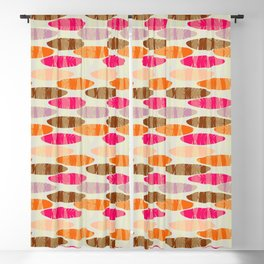 Hot Leaves  #society6 Blackout Curtain