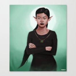 Amara the Elf Canvas Print