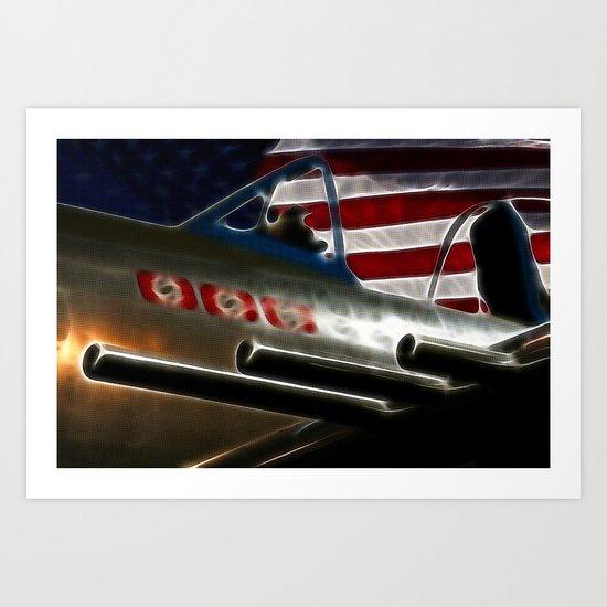 American Victory Art Print