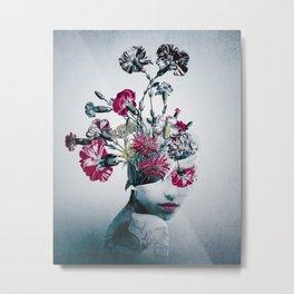 The spirit of flowers Metal Print