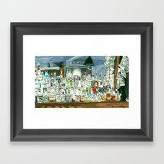 The Locals Framed Art Print