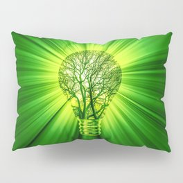 Think Green Pillow Sham