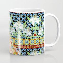 Tangerine Confetti Lilies Coffee Mug