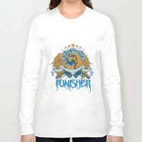 punisher Long Sleeve T-shirts featuring Punisher by Tshirt-Factory