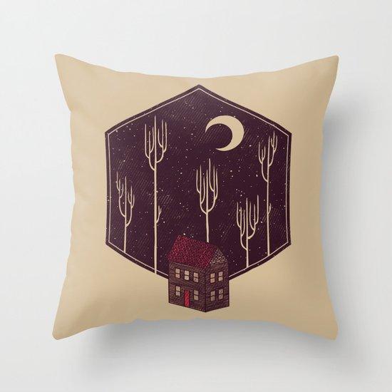 Still Night Throw Pillow