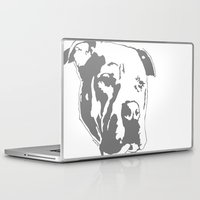 pitbull Laptop & iPad Skins featuring COACH - GREY by Kirk Scott