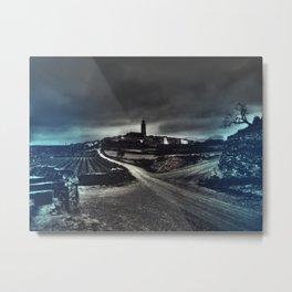 Camino de Berrús Metal Print