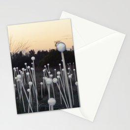 Dawn Breaks on Field of Light Stationery Cards