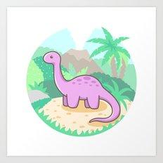 Baby Dino Art Print