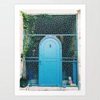 Israel Door Art Print