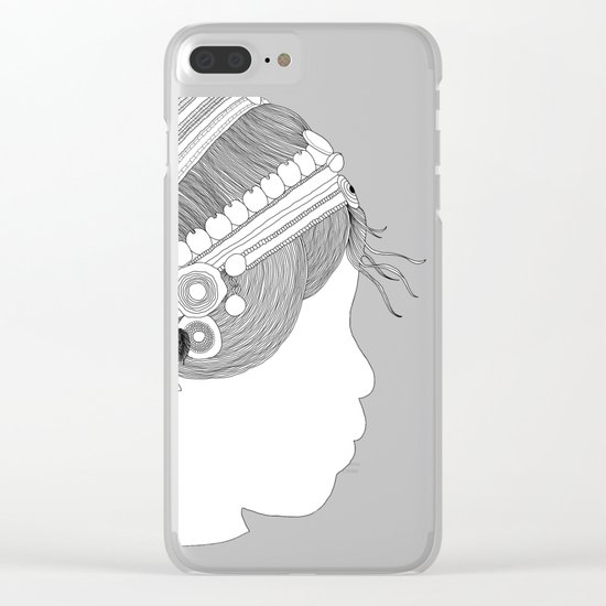 A TRIBE CALLED WOMEN Clear iPhone Case