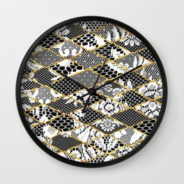 only lace Wall Clock