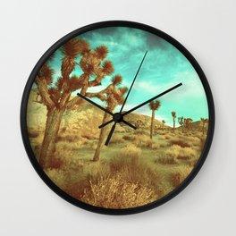 Desert Cactus Wall Clock