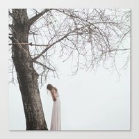 alone Canvas Prints featuring Alone by Jovana Rikalo