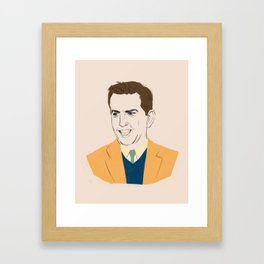 Andrew Baines Bernard Framed Art Print