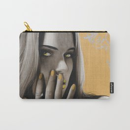 'Golden Rose' Carry-All Pouch