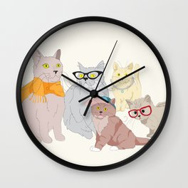 Accessory Cats Wall Clock