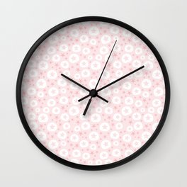 Starfish and sand dollars Wall Clock