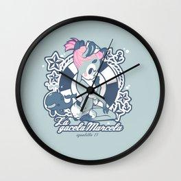 La gacela Marcela Ups! Wall Clock