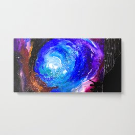 If you trust me I'll show you the universe Metal Print