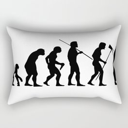 Evolution to Mobile  Rectangular Pillow