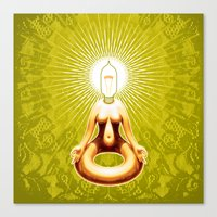 ohm Canvas Prints featuring OHM by Fulvio Bisca