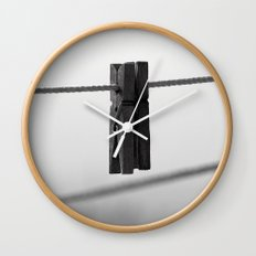 In a pinch #2 Wall Clock