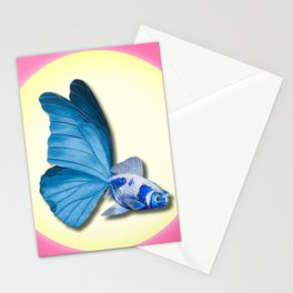 THE BUTTERFLY FISH - Barbara Stationery Cards