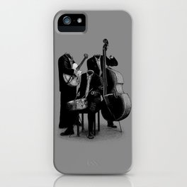 The Invisibles (On Grey) iPhone Case