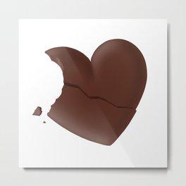 Love Bites #hatetolove Metal Print
