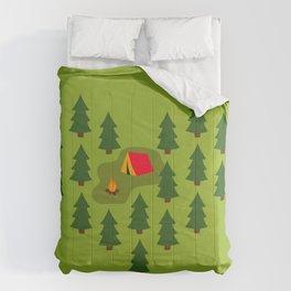Camping Love Comforters