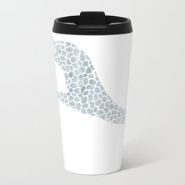Chambray giraffe Travel Mug