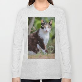Are you meowing to me? Long Sleeve T-shirt