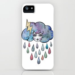 Today I am a Storm Cloud iPhone Case