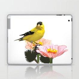 Goldfinch in the Garden Laptop & iPad Skin
